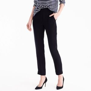 J. Crew Pull-on Easy Pant in Matte Crepe Size 6